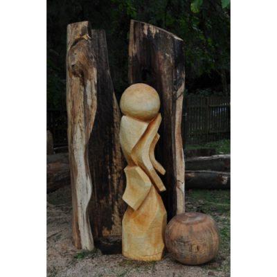 Zahradní dřevěná skluptura - Vyznání stromů