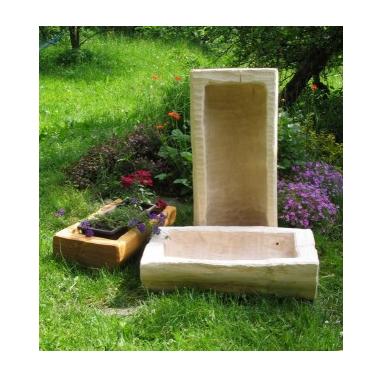 Srubový nábytek- doplnky - Dřevěné korýtka