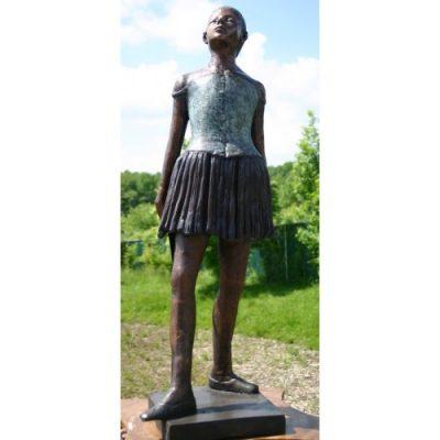Zahradní bronzová socha - Balerína