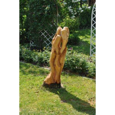 Zahradní dřevěná skluptura - Volná plastika
