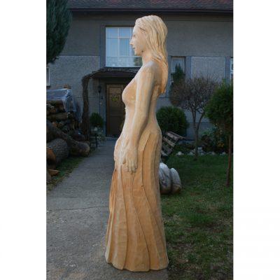 zahradni-drevena-socha-drevena-bila-pani