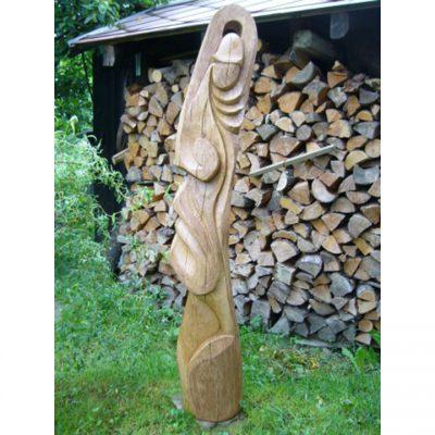 Dřevěná socha Moai II
