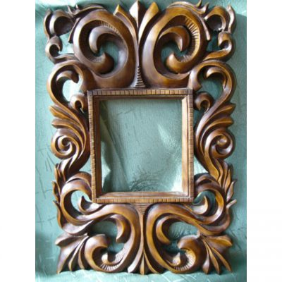 Zrcadlo s ornamenty