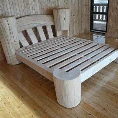 Srubová postel Liana